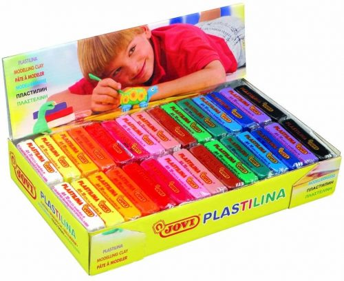 Jovi Plastilina Reusable and Non-Drying Modeling Clay
