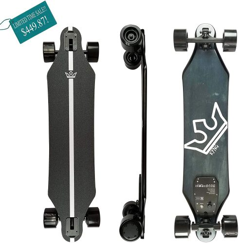 """KYNG 37"""" Electric Skateboard with Remote, 22 MPH"""