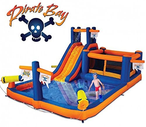 Blast Zone Pirate Bay - Inflatable Water