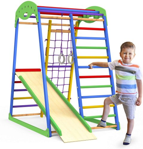 Jungle Gym Indoor Playground - Slide for Kids Playset