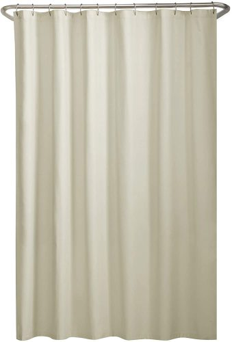 Maytex Water Repellent Fabric Shower Curtain Liner