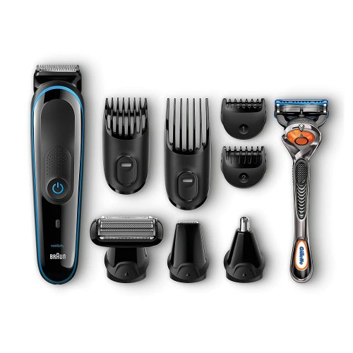 Braun Mgk3080 Men's Beard Trimmer/hair Clipper, 9-in-1 Precision Trimmer, Ultimate Precision for Any Beard Style