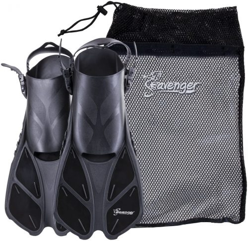 Seavenger Torpedo Snorkeling Fins for Travel