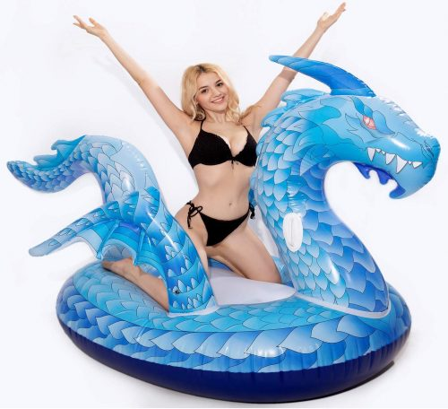 Dreambuilder Toy Giant Inflatable Dragon Pool Float