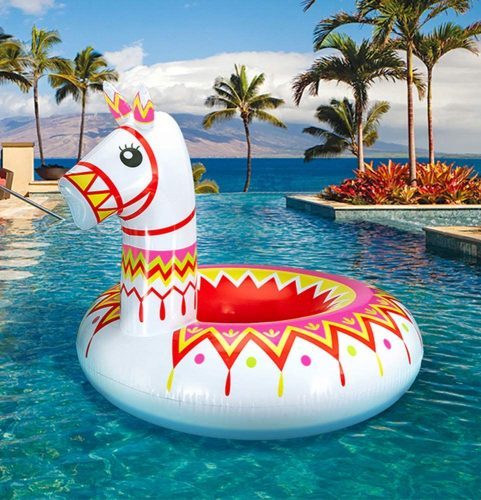 Geefuun Llama Pool Float Party Inflatable