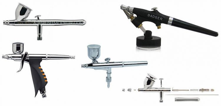 Different Types of Airbrush