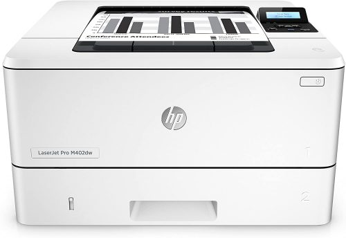 HP LaserJet Pro M402dw Wireless Laser Printer with Double-Sided Printing