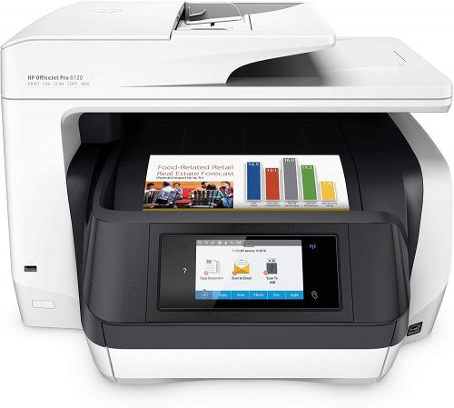 HP OfficeJet Pro 8720 All-in-One Wireless Printer