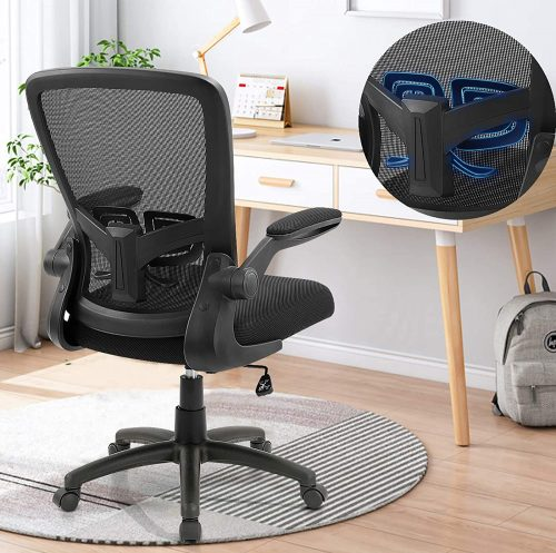 Office Chair, ANACCI Ergonomic Desk Chair with Adjustable Height and Lumbar Support