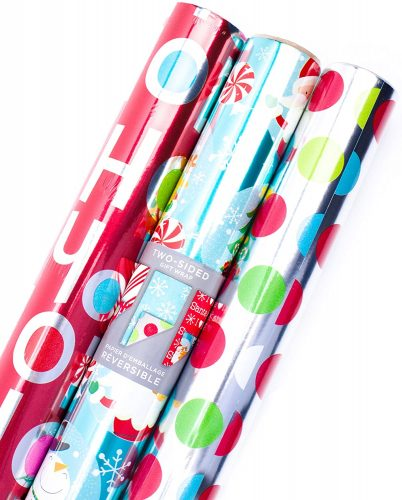 Hallmark Reversible Wrapping Paper