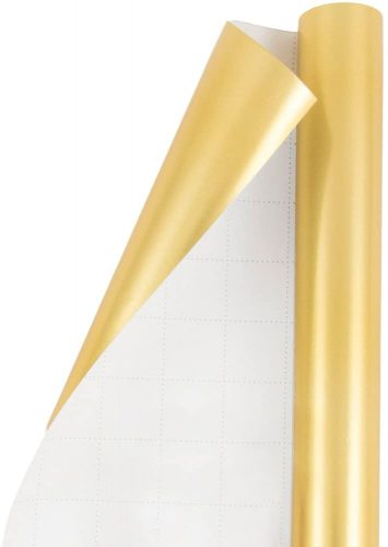 Solid Matte Gold Wrapping Paper