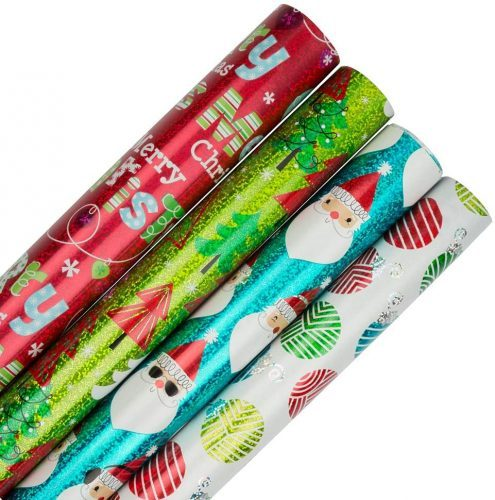 JAM PAPER Assorted Gift Wrap