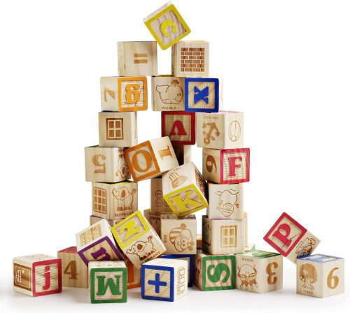 SainSmart Jr. Wooden ABC Blocks