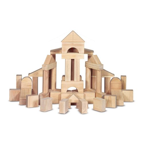 Melissa & Doug Standard Wooden Unit Blocks