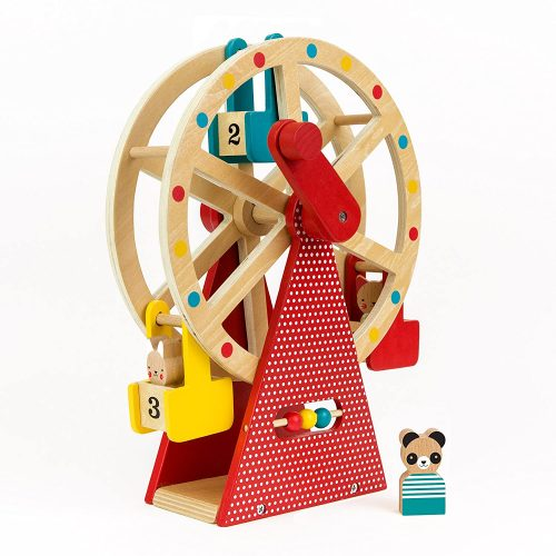Petit Collage Ferris Wheel Carnival Wooden Toy